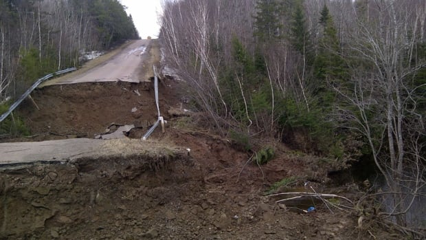 A blocked culvert caused roughly $1 million worth of damage in the southeastern community of Notre-Dame.
