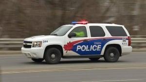 sudbury police SUV