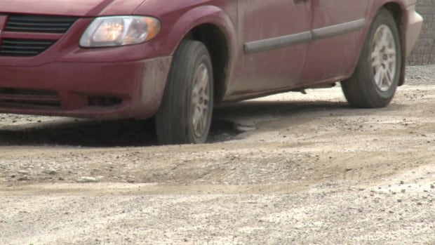 Motorists in St. Alban's have to exercise caution while driving on the main road, which residents say is overrun with potholes - with no big fix in sight.