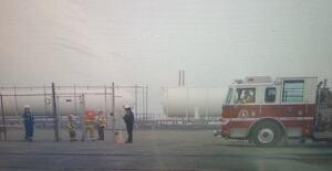 Dartmouth propane leak