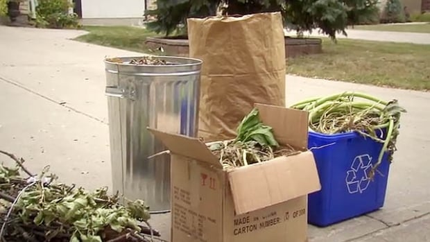 Curbside yard waste pickup is scheduled on the same days as trash and recycling collection, every two weeks.