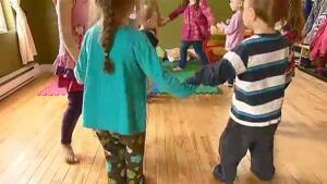 daycare kids playing