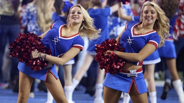 The Buffalo Bills are being sued by 5 former cheerleaders over a pay system they say had them working hundreds of hours for free at games.