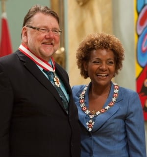 Ben Heppner with Michaelle Jean
