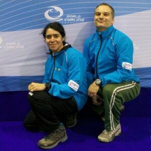 Aline Lima Goncalves and Marcelo Mello