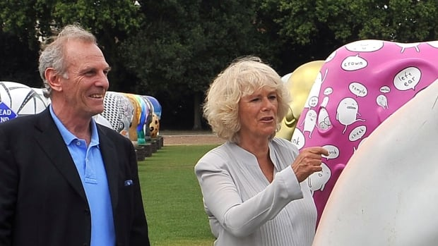 A 2010 file photo shows Mark Shand, brother of The Duchess of Cornwall. Royal officials in Britain say Shand died after sustaining a serious head injury following a fall in New York.