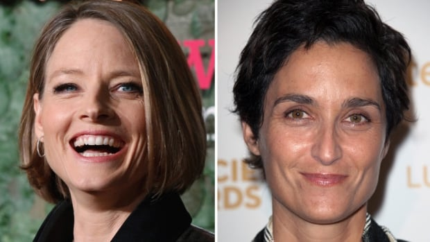 A representative for Oscar-winning actress Jodie Foster, left, confirms that Foster wed girlfriend Alexandra Hedison, right, over the weekend.