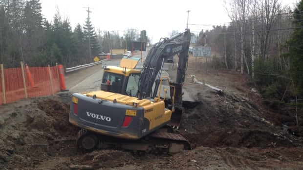 The Department of Transportation and Infrastructure should have a better idea on Thursday about how much longer Route 114, near Hillsborough, will be closed because of a large sinkhole.