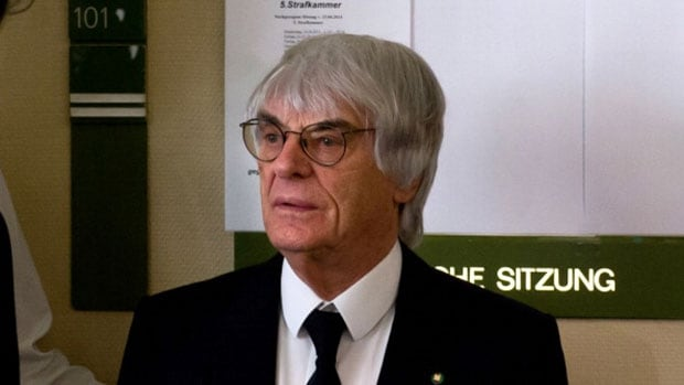Formula One boss Bernie Ecclestone he was blackmailed by a German banker who received a disputed $44 million payment.