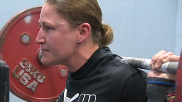 Eileen Du Plooy can lift 350 pounds at any given practise.