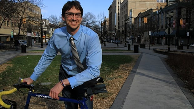Hamilton native Jason Thorne will take over as the city's new general manager of planning and economic development in late May. In preparation, he's cycling around Hamilton to get a look at the neighbourhoods.