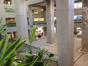 Calgary City Hall atrium