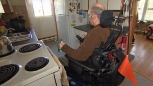 Pat Dunphy wheelchair accessibility workers comp CBC