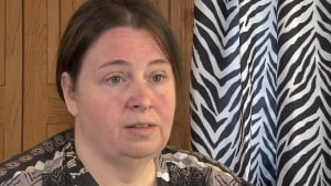 Kim Dunphy wife Bay Bulls injured worker CBC