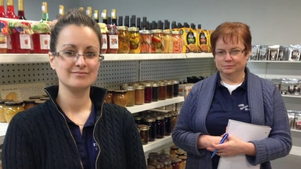 At the Specialty Market in Val Caron, Jen Depatie and her mother-in-law Beth Depatie are looking to provide customers with locally-inspired food. They opened the store last year.