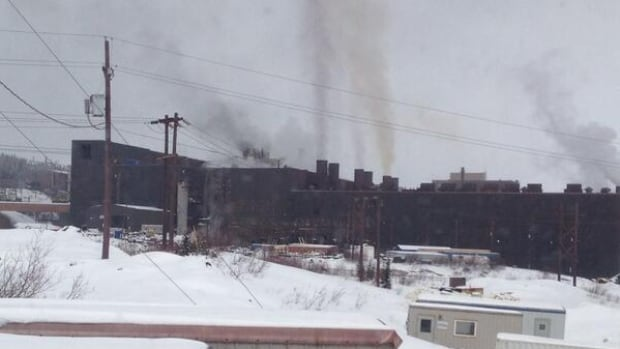 A fire that broke out around noon on Friday in the IOC mine concentrator caused the plant to completely shut down operations.