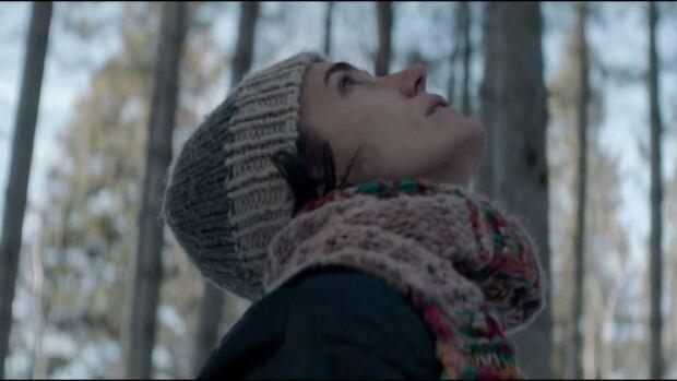 Jennifer Connelly in Aloft, filmed in a Manitoba winter.