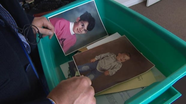 A bin full of precious family photos is back where it belongs, thanks to some social media notes and a bit of luck.