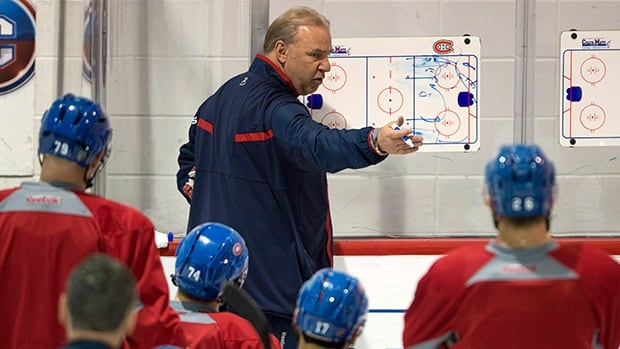 Montreal Canadiens head coach Michel Therrien will have plentyof time to choose his lineup for the second round after sweeping the Lightning.