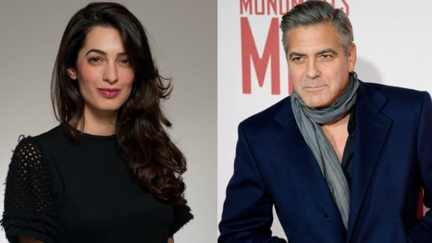 Actor George Clooney and London lawyer Amal Alamuddin announced their engagement in April. Clooney is lashing out at the Daily Mail for a story that Clooney calls a 'premeditated' lie.