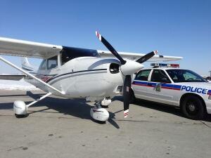 Saskatoon Police Car and Plane