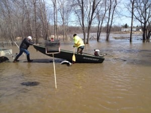 Peguis First Nation washed-out roads