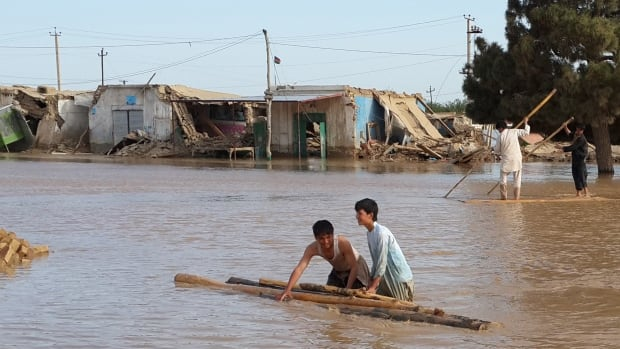 An official says flooding in northern Afghanistan has killed more than 100 people and driven hundreds more from their homes.