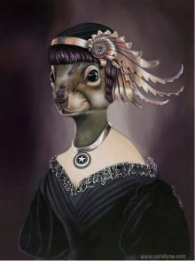 Carolyne Yardley - Squirrealism