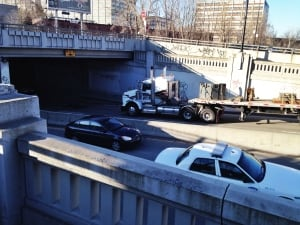 rosemont viaduct cyclist accident