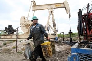 pumpjack oil worker job