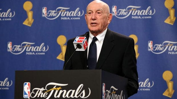 Hall of Fame basketball coach Jack Ramsay led the Portland Trail Blazers to the 1977 NBA title.