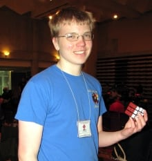 Antoine Cantin rubik's cube world record Clarence-Rockland