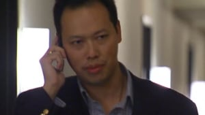 Hao Ji Tang on a phone