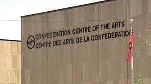 Confederation Centre sign