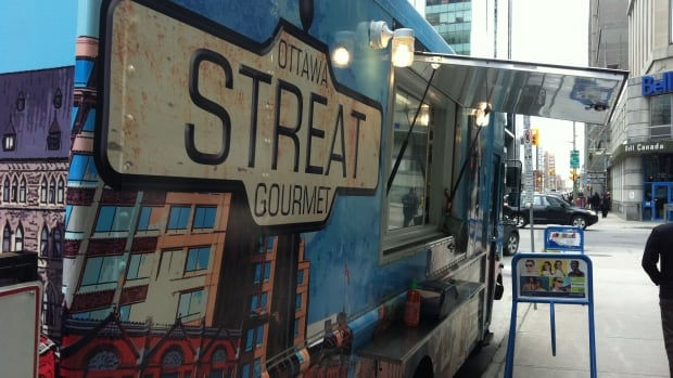 The Streat Gourmet food truck offers a seasonal menu to downtown pedestrians at O'Connor and Albert streets.
