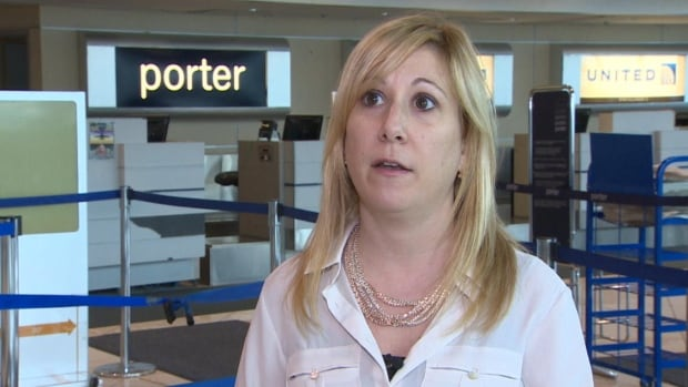 Gillian Hickman says she was a VIP Porter member up until her experience with the airline this week. She says she'll be booking with other airlines from now on.