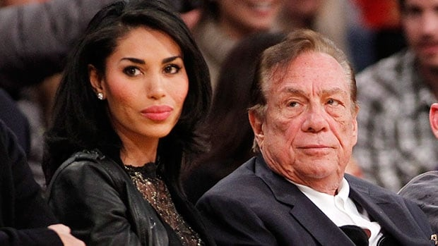 An NBA investigation found Los Angeles Clippers owner Donald Sterling, right, was the person on audiotapes making racist comments to V. Stiviano.