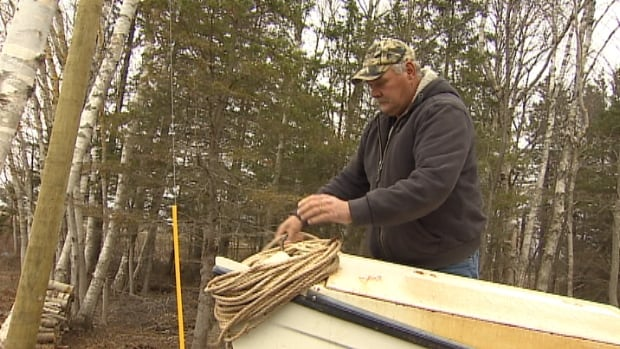 Oyster fisherman Stan Casey won't be fishing in Charlottetown Harbour on Thursday as he had planned.