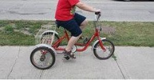 Kieran Huculak's bike