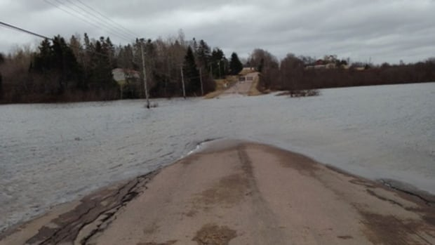 A section of Route 106 in Dorchester has been flooded for three weeks. Some nearby residents are demanding that a permanent solution be found to prevent future flooding.