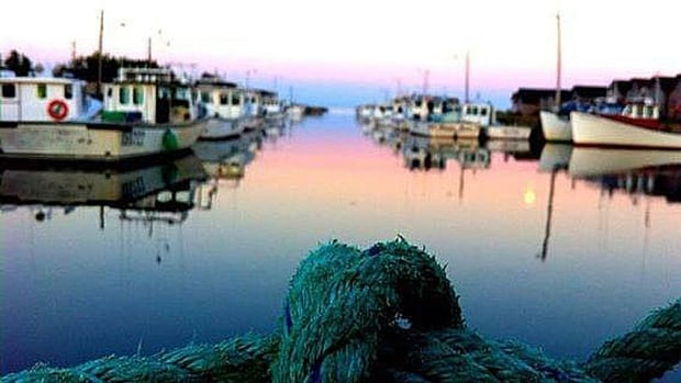 Lobster season setting day was calm but cool Wednesday, with temperatures around the freezing mark at sunrise.