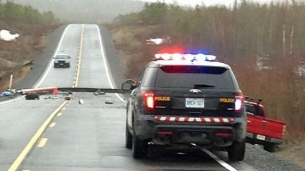 One man is dead following a traffic accident that happened at a road washout on Highway 527, near Gull Bay First Nation.