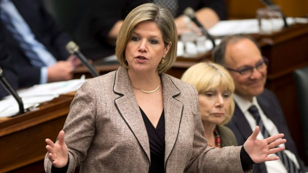 NDP leader Andrea Horwath, a Hamilton Centre MPP, says she's reviewing the budget and will speak to media Friday morning. If her party does not support the budget, it will trigger a spring election.