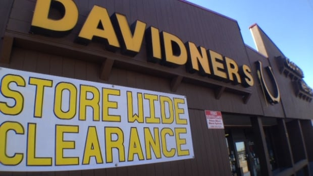 After 81 years, Davidners, a clothing store in Prince Albert, is closing.