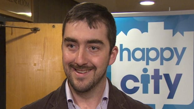 Josh Smee, chair of the board for Happy City St. John's, says their online survey polled about 500 responses regarding snowclearing in St. John's.