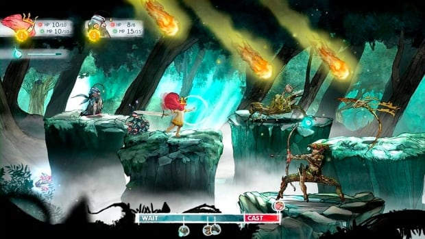 "This photo provided by Ubisoft shows a scene from the video game, ""Child of Light."" (AP Photo/Ubisoft)"