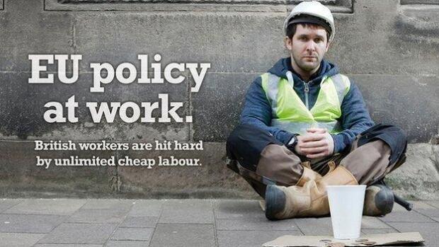 Ukip European elections campaign advertisement