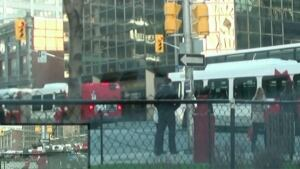 OC Transpo buses running red lights YouTube video April 30 2014