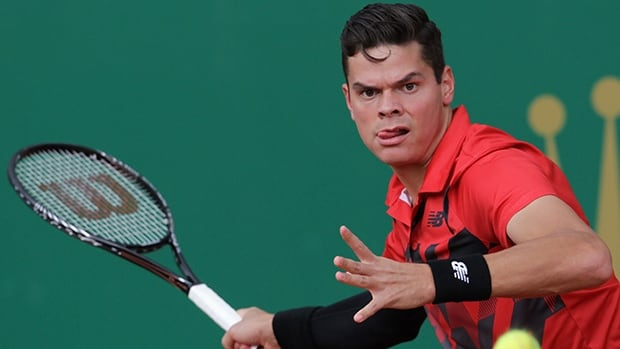 Canada's Milos Raonic, shown in this file photo, lost his quarter-final match at the Portugal Open on Friday.