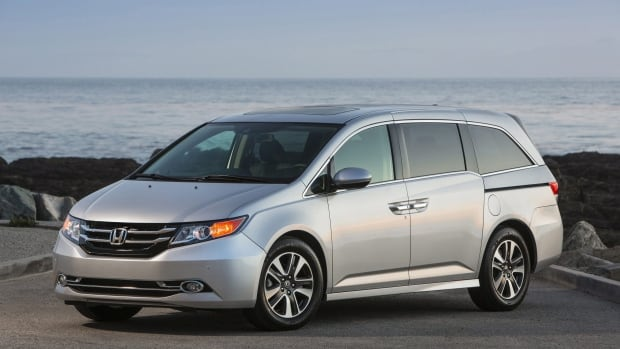 The 2014 Honda Odyssey minivan is being recalled because of side airbags that don't deploy.